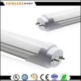 120° Tubo de Plastic+Aluminum los 0.6m 9W T8 LED