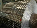 Folha de alumínio de alumínio da Bitola xadrez bobina para andar
