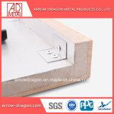 Marble gran rigidez a los golpes de chapa de piedra en forma de panal de aluminio paneles para pisos de baño/