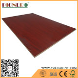 EPA Certificate Red Cherry Melamine Paper Faced MDF