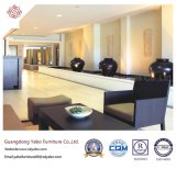 Splendid Hotel Furniture with Wooden Combination Sofa Set (YB-H-29)