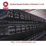 중국 기준 GB2585-2007 38kg 강철 무거운 가로장
