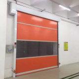 Дверь завальцовки PVC двери завальцовки высокоскоростной двери промышленная