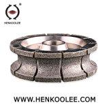 """de """" diamante pulido Bullnose de la rueda del perfil 9 para de cerámica de mármol"""