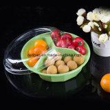 Freier Wegwerfplastik nimmt Nahrungsmittelkasten-Imbiss-Speicher-Frucht-Verpackungs-Behälter mit Kappe weg