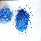 Erstklassiges chemisches blaues Plastikmasterbatch mit Träger von PP/PE