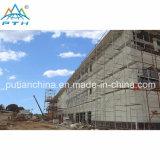 Construction légère préfabriquée personnalisée de structure métallique de coût bas