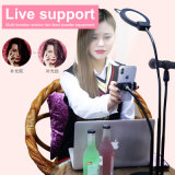 De Houder van de telefoon met het Licht van de Ring Selfie voor Levende Stroom (rk25)
