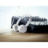 De glanzende ABS Speler van de Muziek van de Sporten van Hoofdtelefoons met Aangepast Embleem
