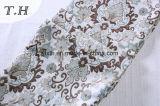 Материал 100% крышки софы жаккарда полиэфира флористический