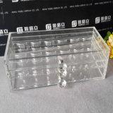 Organisateur acrylique de cil de transparence élevée de Yageli