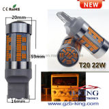 Nuevo T20 2000LM LED Bombilla de luz de giro