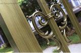 Porte en acier de jardin de couleur en métal enduit décoratif de pouvoir
