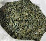 Ландшафт черный камешки из природного камня для сада