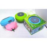 O altofalante impermeável de Bluetooth é equipado com um carro sem fio do banheiro