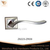 Nuova maniglia di leva del portello della camera da letto della maniglia di portello di Zamak sulla rosetta (Z6213-ZR17)