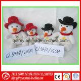 Fabbricazione della Cina per il giocattolo del pupazzo di neve di Chritmas farcito peluche