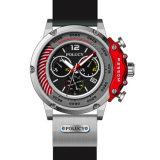 De Douane van de Mensen van de Horloges van het Silicone van de heet-Verkoop van de goede Kwaliteit Uw Horloge van de Sport van het Embleem