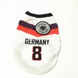 ペット製品のスポーツ100%PolyesterのTシャツのフットボールのバスケットボールチーム犬の衣服