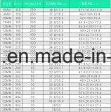 La norme DIN GS certificat clé mixte à cliquet d'engrenage