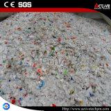Full-Automatic отходов пластиковые бутылки PE хлопья утилизация стиральной машины