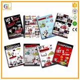 安い螺線形の本の印刷サービス(OEM-GL015)