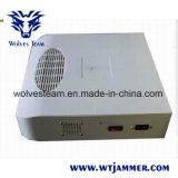 Estilo escondido 8W G/M CDMA 3G 4G todo o jammer do telefone de pilha & construtor do sinal do Gpl L1/L2