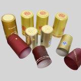 투명한 주문을 받아서 만드는 포도주 PVC 캡슐, PVC 병 마개
