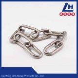 韓国の標準SUS304/316のステンレス鋼のリンク・チェーン