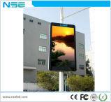 L'écran créateur et interactif du cadre P6 de réverbère de la publicité extérieure signe l'Afficheur LED de Pôle