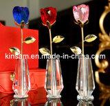 Pastoral de la moda de estilo moderno decoración florero de cristal