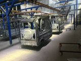 Línea de producción de gran pintura automática