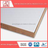 Revestimento a pó de alumínio à prova de isolamento térmico para sistemas com painéis de favo/ Placa de exposições