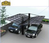熱い販売カラーポリカーボネートの屋根車の駐車カバーまたは車のガレージか車の避難所カバー