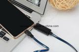 Mirco USB-aufladendaten-Kabel mit LED-Lichtern