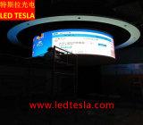 P2.5広告のための屋内曲げられたスクリーンLEDのビデオ・ディスプレイのパネル・ボード