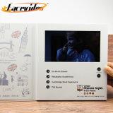 Função Facevideo barato 4.3 Cartão de vídeo para o dom de negócios