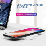 単一のCoil 7.5W 2in1 Fast Wireless Charger Watch Wireless Charger