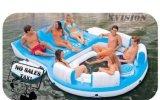 Nuevos productos al aire libre el gigante de 0,9 mm de agua inflable Isla flotante para la venta