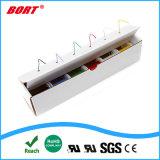 UL 3122 tresse en fibre de verre du caoutchouc de silicone résistant à la chaleur fil AWG20, la lumière LED