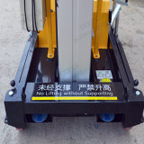 Алюминиевый сплав двойной мачты антенны рабочей платформы подъемника (10m)