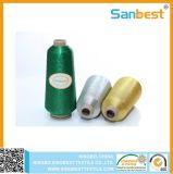 Draad 150d/1 van het Borduurwerk van de Polyester van 100% de Gouden Metaal