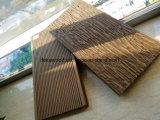Hot Sale WPC Decking Plasitc bois avec du grain du bois des revêtements de sol