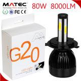 Le témoin Auto LED haute puissance G20 Projecteur à LED 4 côtés de la puce de rafles 80W 8000 Lumen LED H11