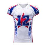 Commercio All'Ingrosso Custom Sublimated American Football Modello Di Fabbrica Prezzo