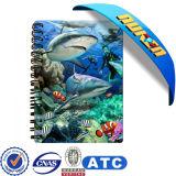 China Manufacture 3D Lenticular Notebook