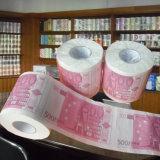 カスタムトイレットペーパーはペーパータオルの新型の屋内トイレロールを印刷した