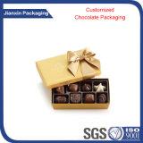 Rectángulo de regalo grande claro disponible del chocolate de la talla con la cubierta