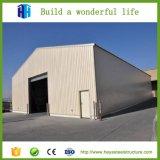주문을 받아서 만들어진 건축 디자인 Prefabricated 강철 구조물 프레임 창고 그림