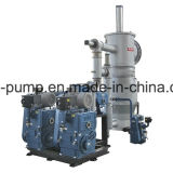 Système d'évaporation de vide de piston rotatoire composé avec la servocommande de fonds